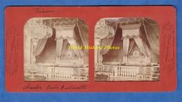 Photo Ancienne Stéréo Vers 1890 1900 - VERSAILLES - Le Trianon - Chambre De Marie Antoinette - Collection E.H. PARIS - Photos