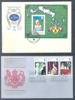 TURKS & CAICOS - FDC - 1977 - SILVER JUBILEE ELIZABETH II  - Lot 17235 - Turks & Caicos (I. Turques Et Caïques)