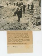 PHOTOS ORIGINALES - 1938 - GUERRE D'ESPAGNE -L'Exode - Les Réfugiés Espagnols Dans La Vallée D'Aure -Cliché FRANCE PRESS - Guerre, Militaire