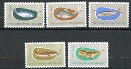 Vietnam Du Nord, Yvert 339/343, Scott 263/267, MNH - Vietnam