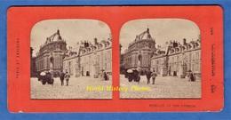 Photo Ancienne Stéréo Vers 1890 1900 - VERSAILLES - La Cour D' Honneur - Collection E.H. PARIS - Photos