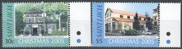 Saint Lucia Sainte-Lucie 2005 Yvertn° 1220-1221 *** MNH Cote 6,50 Euro  Noël Kerstmis Christmas - St.Lucie (1979-...)