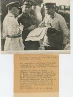 PHOTOS ORIGINALES - 1938 - RUSSIE - MOSCOU - Manoeuvres Militaires Avec VOROCHILOV  & SOKOLOWSKI  -Cliché FRANCE PRESS - Guerre, Militaire