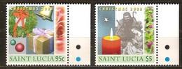 Saint Lucia Sainte-Lucie 2008  *** MNH    Noël Kerstmis Christmas - St.Lucie (1979-...)