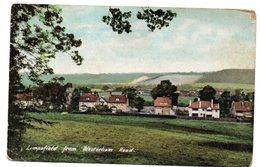 Tarjeta Postal De Limpsfield From Westerham Road. - Surrey