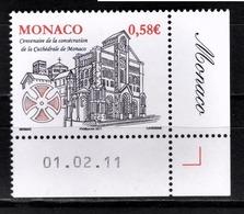 MONACO 2011  - Y.T. 2776 - NEUF ** - Monaco