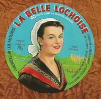 INDRE ET LOIRE ETIQUETTE CAMEMBERT Belle LOCHOISE VERNEUIL SUR INDRE LOCHES  JN181 - Fromage