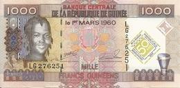 GUINEE 1000 FRANCS  2010 UNC P 43 - Guinée