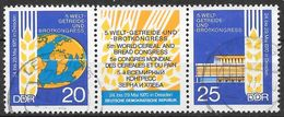 DDR 1970 / MiNr.   1575 – 1576  Dreierstreifen    O / Used   (f666) - DDR