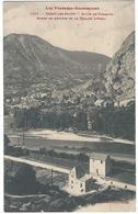 Ussat Les Bains Route De Tarascon Bords De L' Ariège Et Le Village D' Ussat - Francia