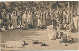 TUNISIE - Charmeur De Serpents - Lehnert & Landrock, Tunis - Tunisie