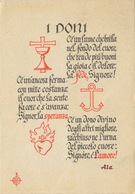 321 - 1942 I DONI - TRAVELLED - Filosofia & Pensatori