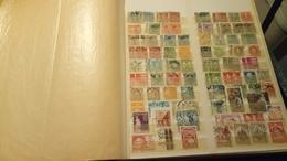 F0937 ALBUM TIMBRES DANEMARK / PORTUGAL NEUFS / OB A TRIER BELLE COTE DÉPART 10€ - Stamps