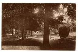 Tarjeta Postal De Beaujeu- Hotel Du Parc. - Beaujeu