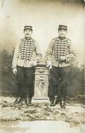 LUNEVILLE - 17em Régiment De Chasseurs, Carte Photo En 1909. - Régiments