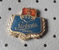 SLOBODA Osijek Biscuit, Cookies, Candy Factory Croatia Ex Yugoslavia Pin - Food