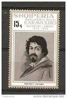 ALBANIA - 1973 CARAVAGGIO Autoritratto Nuovo** MNH - Altri