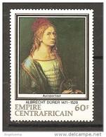 CENTROAFRICA - 1971 A. DURER Autoritratto Nuovo** MNH - Altri