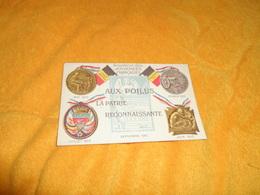 CARTE POSTALE ANCIENNE NON CIRCULEE DATE ?. / AUX POILUS LA PATRIE RECONNAISSANTE. / SOUVENIR DES JOURNEES FRANCAISES. - Guerre 1914-18