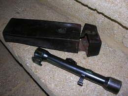 Ancienne Lunette Tireur Sniper Allemand 98k Karl Kahles Heliavier WW2 - Optique