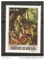 BOLIVIA - 1995 M.P. HOLGUIN Lavandaia (Maria?) Con Putti Alati Nuovo** MNH - Cristianesimo