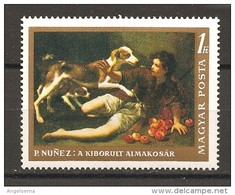 UNGHERIA - P. NUNEZ Ragazzo Con Cane Nuovo** MNH - Cani