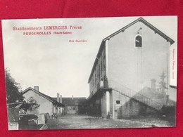 Etablissements LEMERCIER Frères, FOUGEROLLES (Haute-Saône) Cité Ouvrière. Imprimerie Pattegay, Luxeuil - Autres Communes