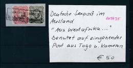 Seepost Aus Westafrika Stempel....   (oo3435   ) Siehe Scan - Deutschland