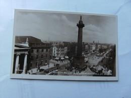 Ierland Ireland Dublin Nelson Pillar And Upper O'Connell Street - Dublin