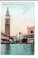 CPA - Carte Postale - ITALIE -Venezia - Piazzetta St Marco Dal Mare-1918- S634 - Venezia