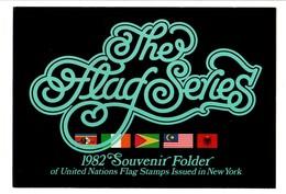 FEUILLE SOUVENIR AVEC TIMBRES NEUF** DES DRAPEAUX ETATS MEMBRES DE L'ONU 1982 (VOIR DESCRIPTION) - Briefmarken