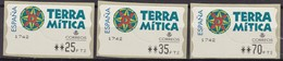 "2000, Spanien, ATM 48, Freizeitpark ""Terra Mítica"", Benidorm. MNH ** - 1931-Aujourd'hui: II. République - ....Juan Carlos I"