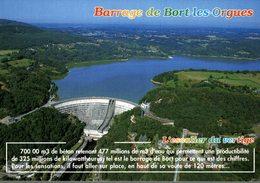 19 BARRAGE DE BORT-LES-ORGUES  L'ESCALIER DU VERTIGE - France