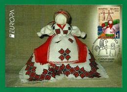 Belarus  2015  Mi.Nr. 1059 , EUROPA CEPT Historisches Spielzeug - Maximum Card - Premier Jour 13.04.2015 - Europa-CEPT