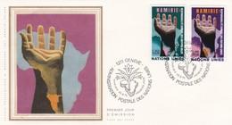 BUSTA F.D.C. - SVIZZERA - NAZIONI UNITE GINEVRA - 1975 - FDC