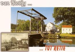 Van Rethy...tot Retie - Brug 2 - Hotel ''Postel Ter Heyde'' - Retie