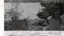 Cpa Salon (1914)   R. Rousseau  Decelle   La Vendèe Le Bocage La Plaine  Le  Marais  (sign...) - Peintures & Tableaux