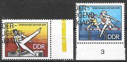 DDR 1970 / MiNr.   1594 – 1595   O / Used   (f690) - DDR
