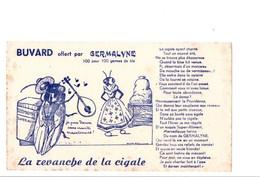 BUVARD GERMALYNE LA REVANCHE DE LA CIGALE - Unclassified
