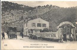 C P A  Ollioules HOTEL RESTAURANT DU TRIANON - Ollioules