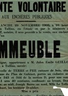 FISCAL SUR AFFICHE ENTIERE 1903 - Revenue Stamps