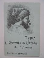 Très Rare Série Complète De 16 Cartes De Philibert Florence,avec Enveloppe - Monaco