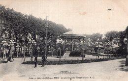 V15080 Cpa 62 Boulogne Sur Mer - Le Jardin Des Tintelleries - Boulogne Sur Mer