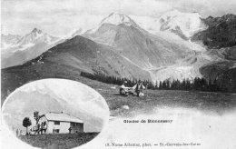 V15082 Cpa 74 St Gervais Les Bains - Glacier De Bionnassay - Saint-Gervais-les-Bains