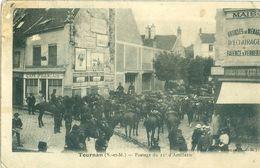 (77) TOURNAN : Passage Du 11ème D'Artillerie (animée) - Tournan En Brie