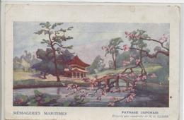 JAPON - Paysage Japonais - Messagerie Maritimes. - Ohne Zuordnung