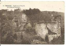 Malmédy Vallée De La Warche Ruines De Renarstène Voyagée En 1929 - Malmedy