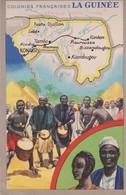 CARTE - Guinée Française