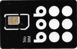 Bulgaria - Bob - Black White Circles Trio Sim GSM SIM Mini/Micro/Nano, Mint - Bulgaria