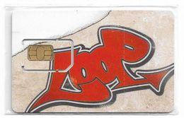 Bulgaria - M-Tel - LooP Graffiti GSM SIM 2 Mini, NSB - Bulgaria